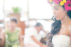 ウエディングブーケはハワイの花屋FLOWER SHOWER DESIGNへ